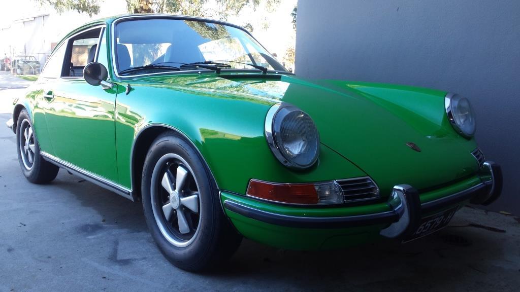 1972 Viper Green 911 T