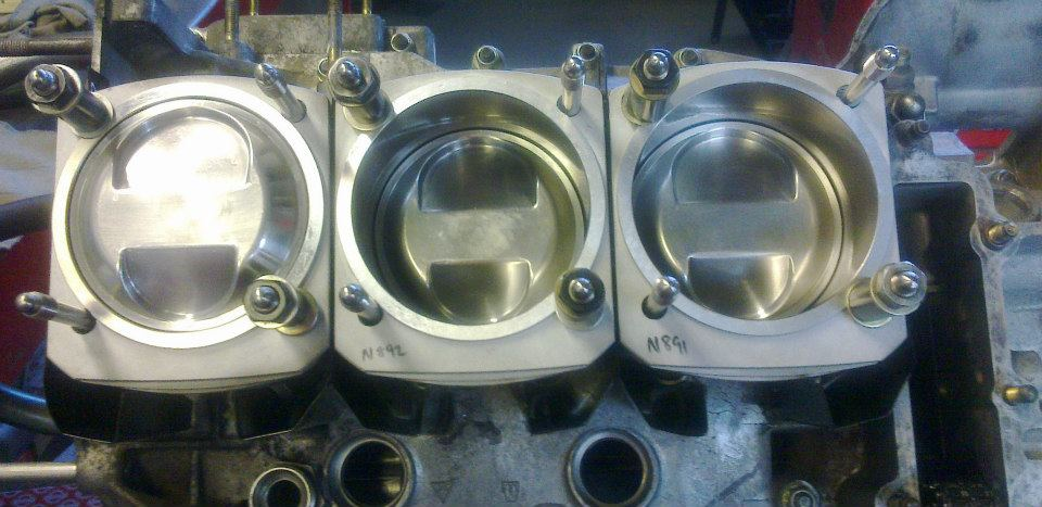 100mm Nickies and JE pistons with ARP headstuds on the way to making a 3.0 litre SC a 3.3litre
